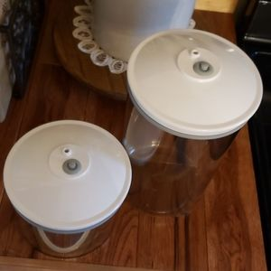 Foodsaver Kitchen - SOLD!! FoodSaver Containers